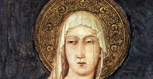 Saint Clare and Simplicity