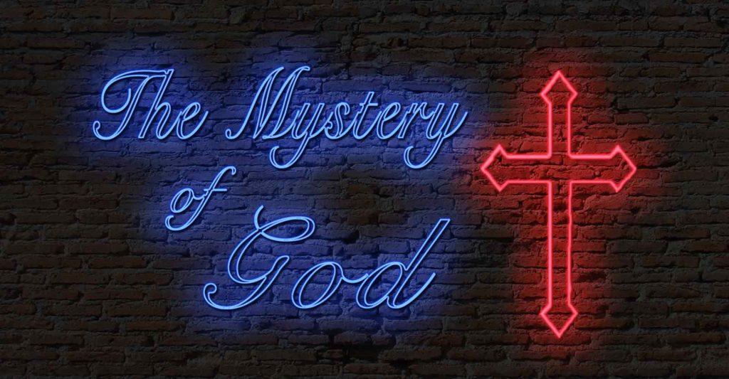 Seeking the mysteries of God, God's providence, God's hand