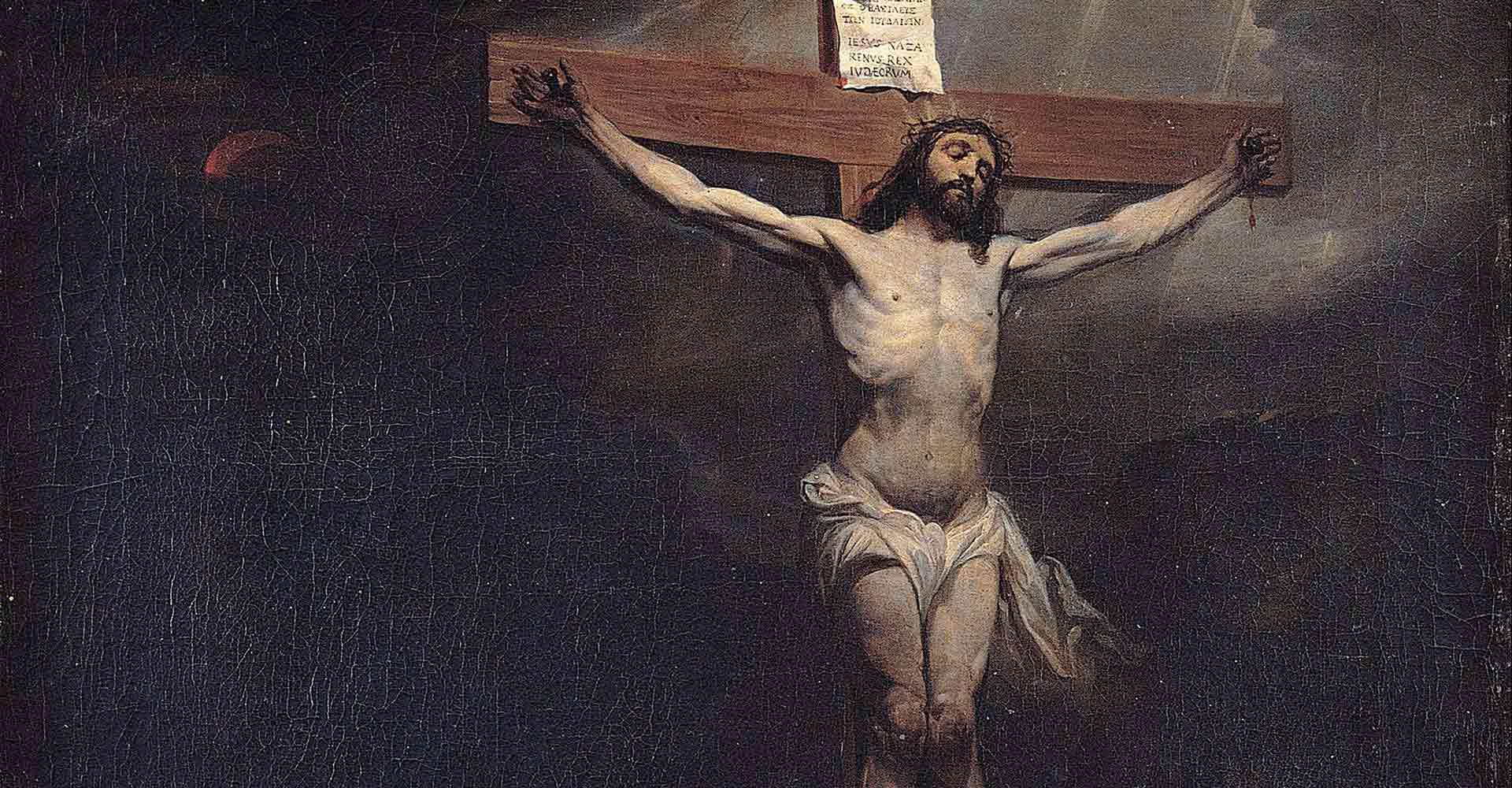Christ Crucified, Roman crucifixion