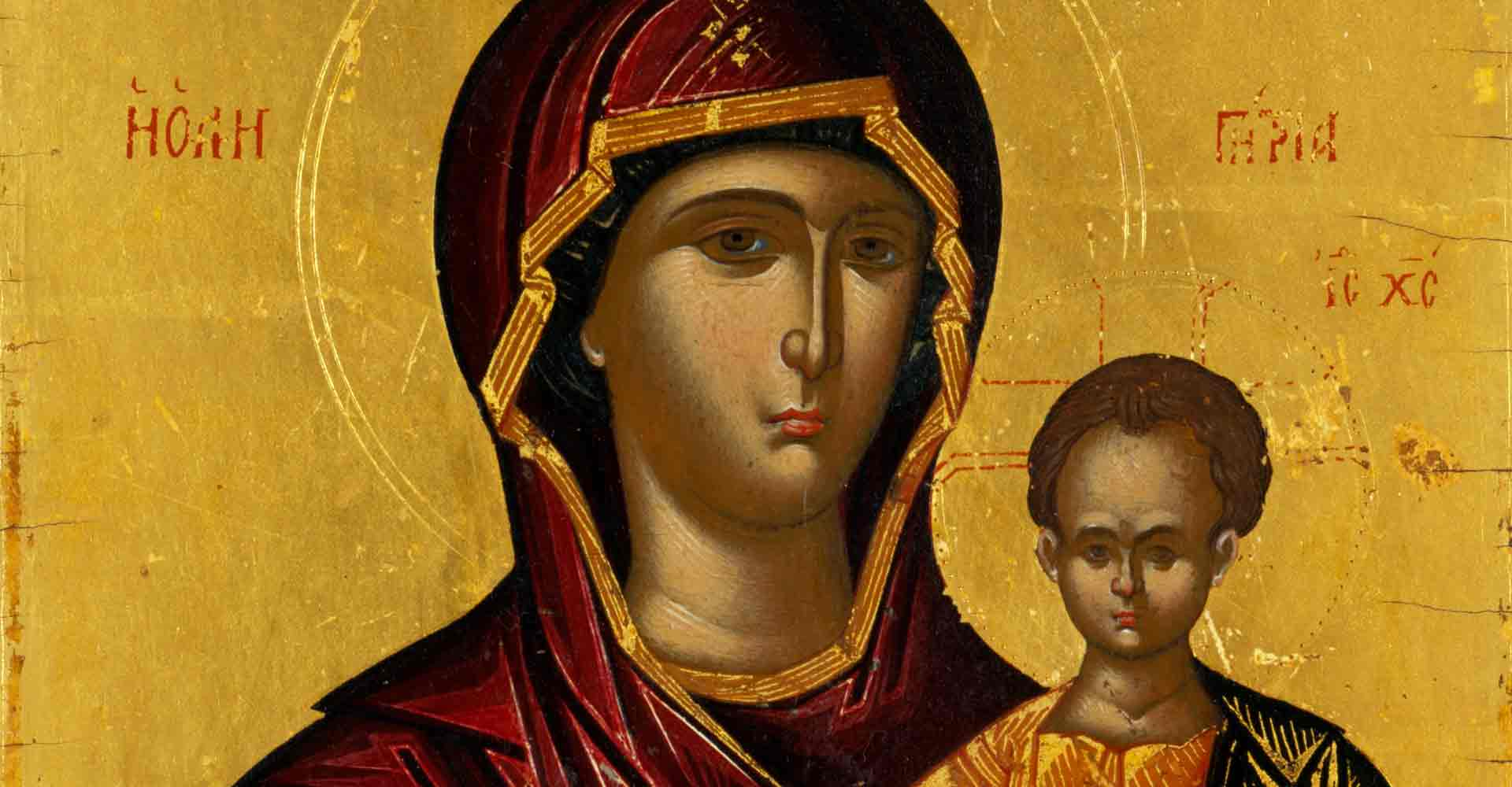 Icon of the Virgin Mary, Mother of god