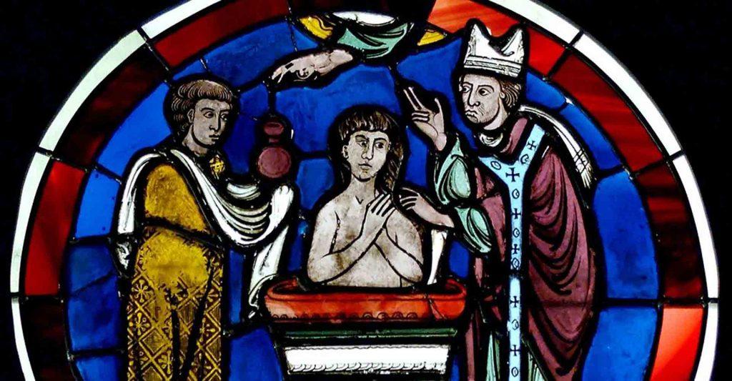 Sacrament of Baptism and encountering Christ, Nuno de Santa Maria