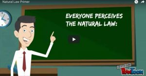 A short primer on the natural moral law