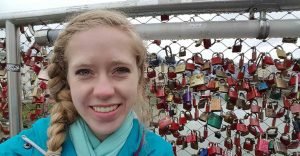 Lauren Heaton in Austria, 2017