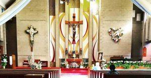 St. Joseph Catholic Church in the Easter Season