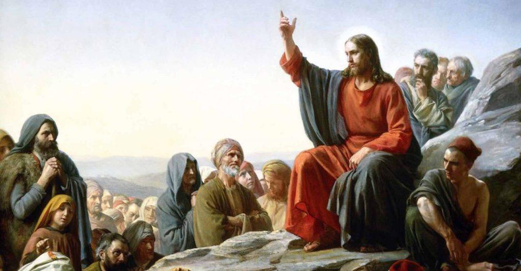 Jesus' Sermon on the Mount, beatitudes, charity, turn the other cheek