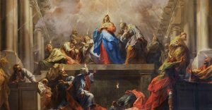 Pentecost, descent of the Holy Spirit