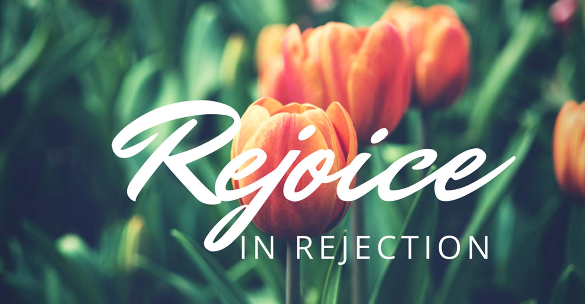 Rejoicing in Rejection — Joy In Truth