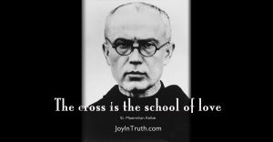 St. Maximilian Kolbe a martyr for love