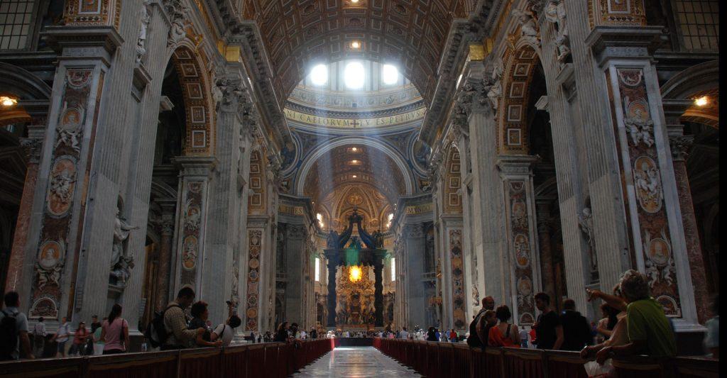 St. Peter's Basilica, Catholicism, Catholic CHurch