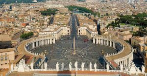 St. Peter's Square, Catholic Church, One true faith