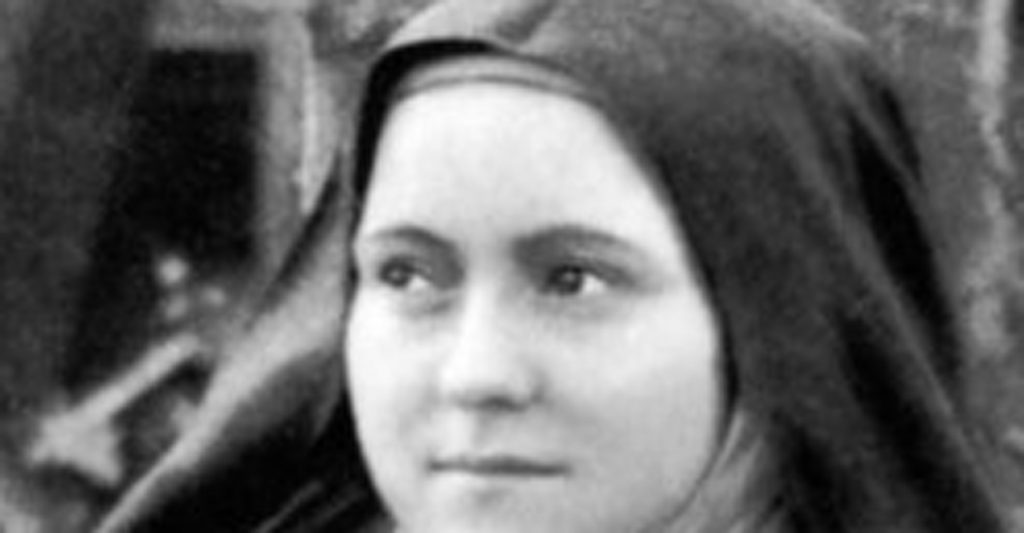 Therese of Lisieux. St. Theresa of the Child Jesus