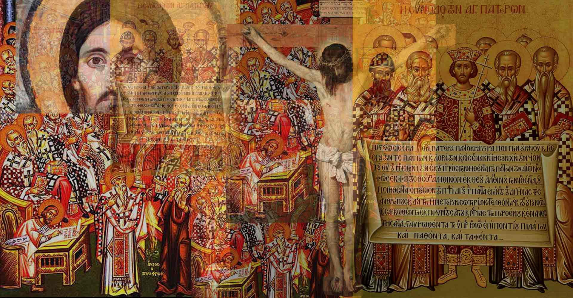 Christ collage