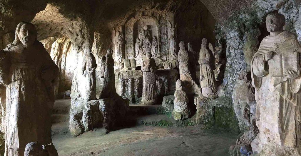 statues of saints