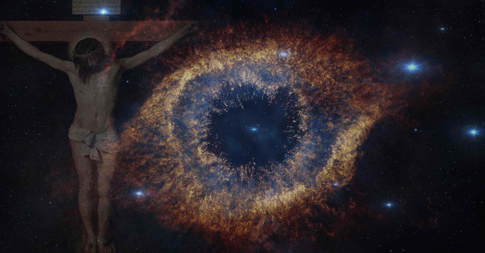Jesus Christ helix nebula