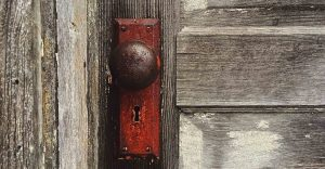 door and doorknob