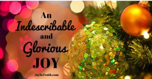 Advent Week 3: Unconditional Joy