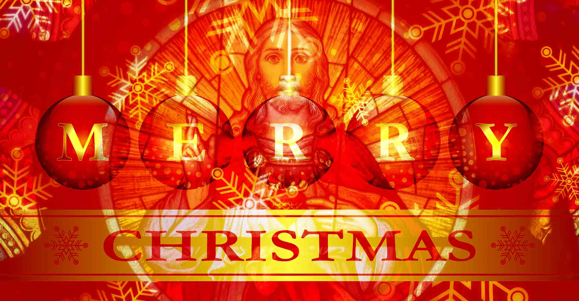 Christ is the meaning of Christmas