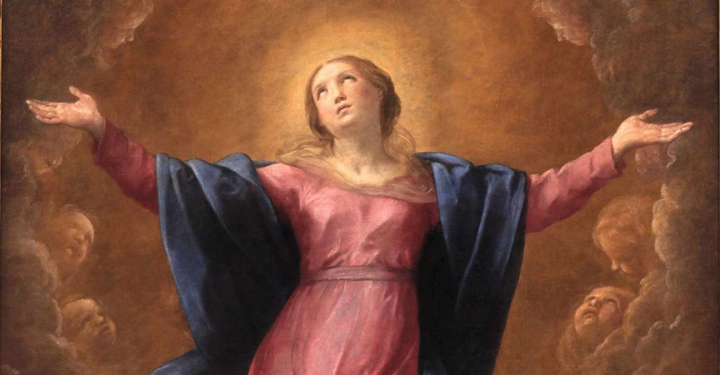 Assumption of the Virgin Mary into heaven