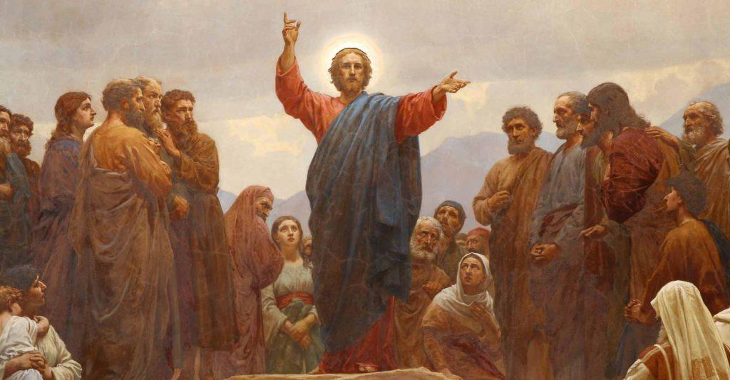Sermon On The Mount, church teaching is Christ's teaching