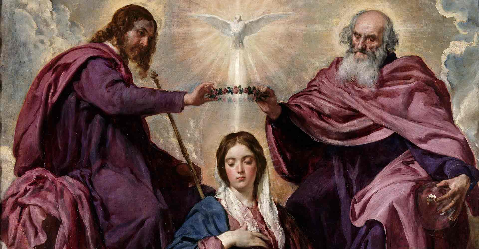 Mary is crowned queen of heaven