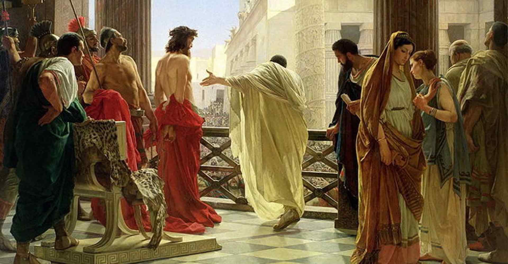 Pilate Judges Jesus Christ