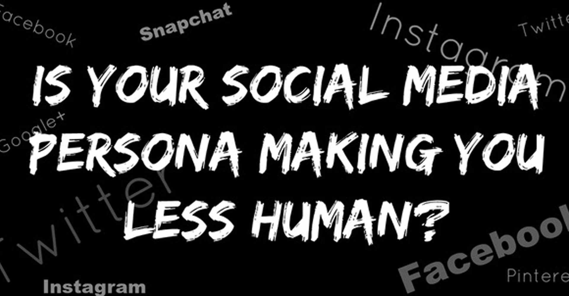 Does Social Media Make Us Less Human?