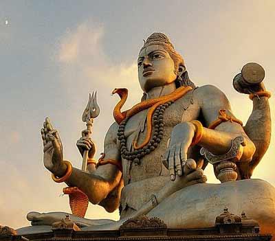The false god Shiva