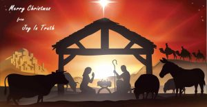 Merry Christmas from Joy In Truth, Deacon Frederick Bartels