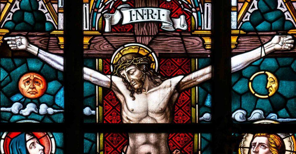 Jesus Christ Crucified, follow me