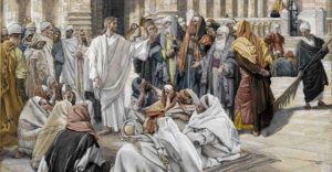 Jesus rebukes the Pharisees